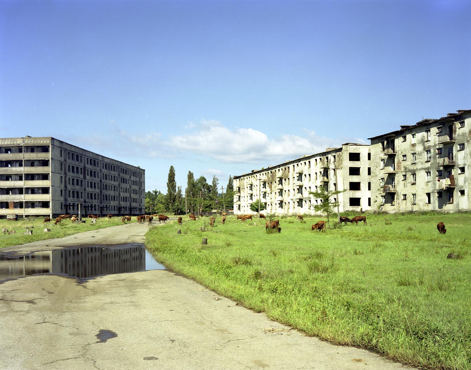 Derelict flats - maria