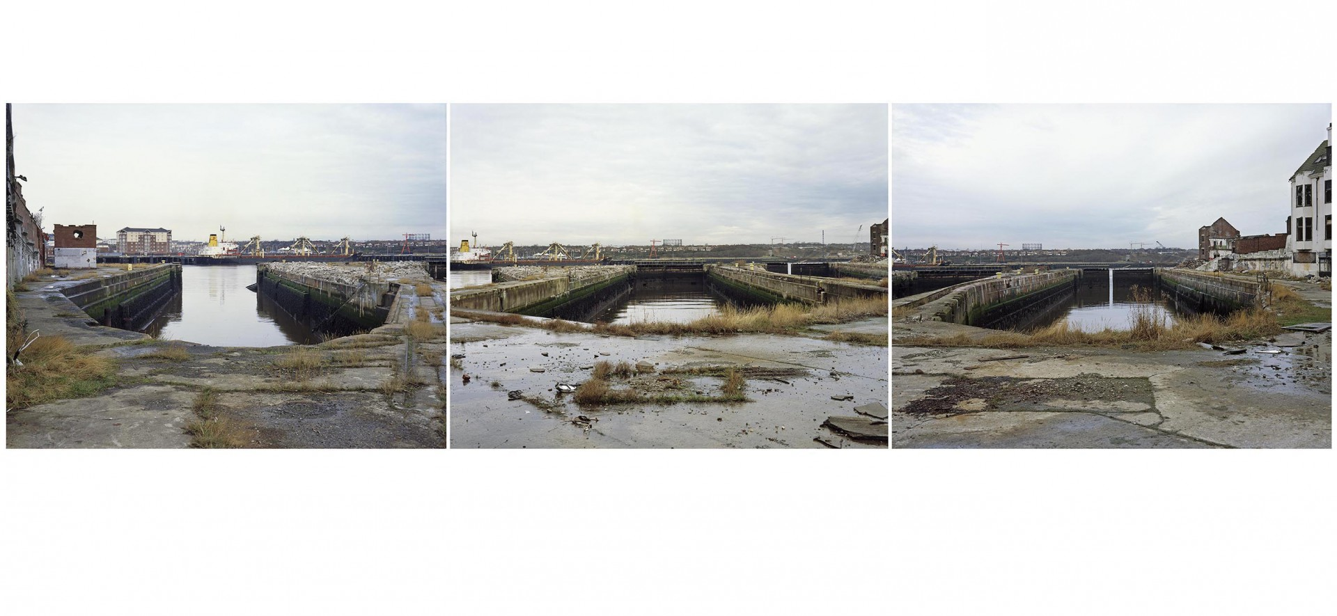 Newcastle- triptych