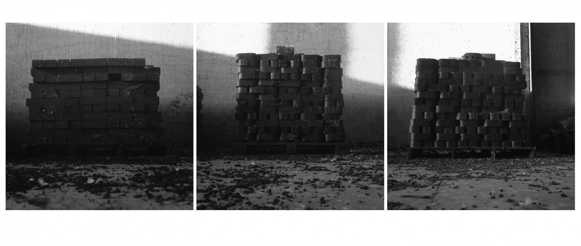 Bricks triptych