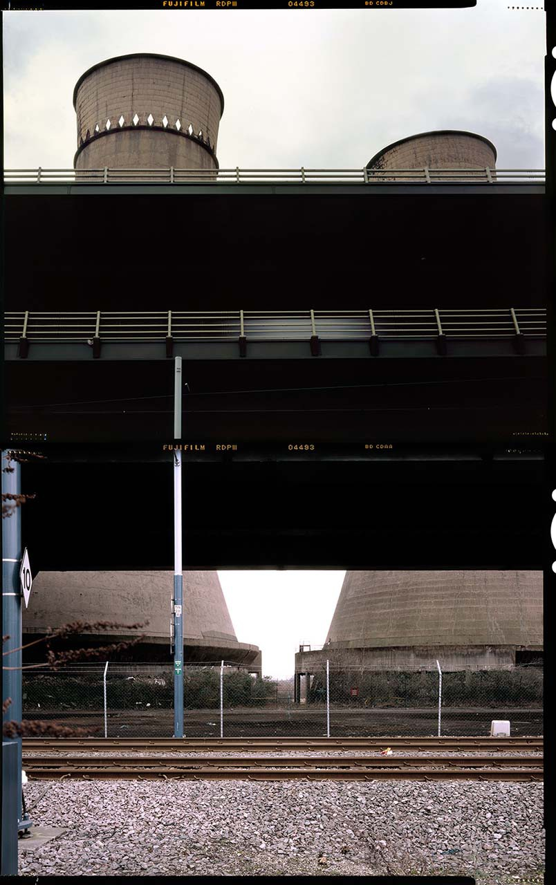 cooling towers diptych